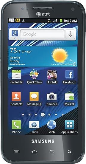 amazon com samsung captivate glide at t cell phones accessories rh amazon com Samsung Focus AT&T Samsung