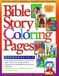 Thru-the-Bible Coloring Pages: Ages 3-6 (Heartshaper): Standard ...