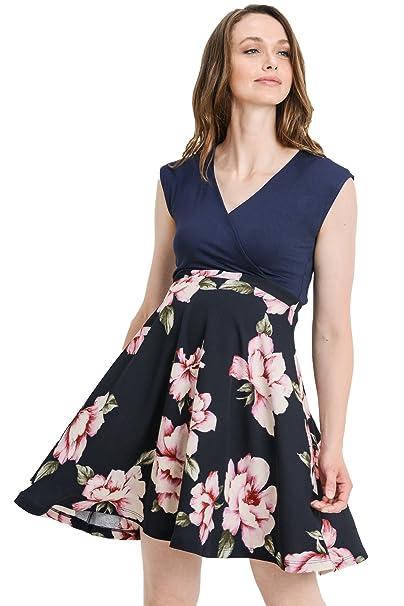 9669355f5 LaClef - Vestido de Maternidad para Mujer