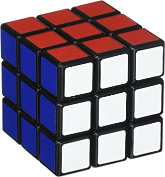 west feen 2 in 1 Cube 3x3x3 Sticker-Less Rubiks Cube Puzzle (1Big+1 Small)