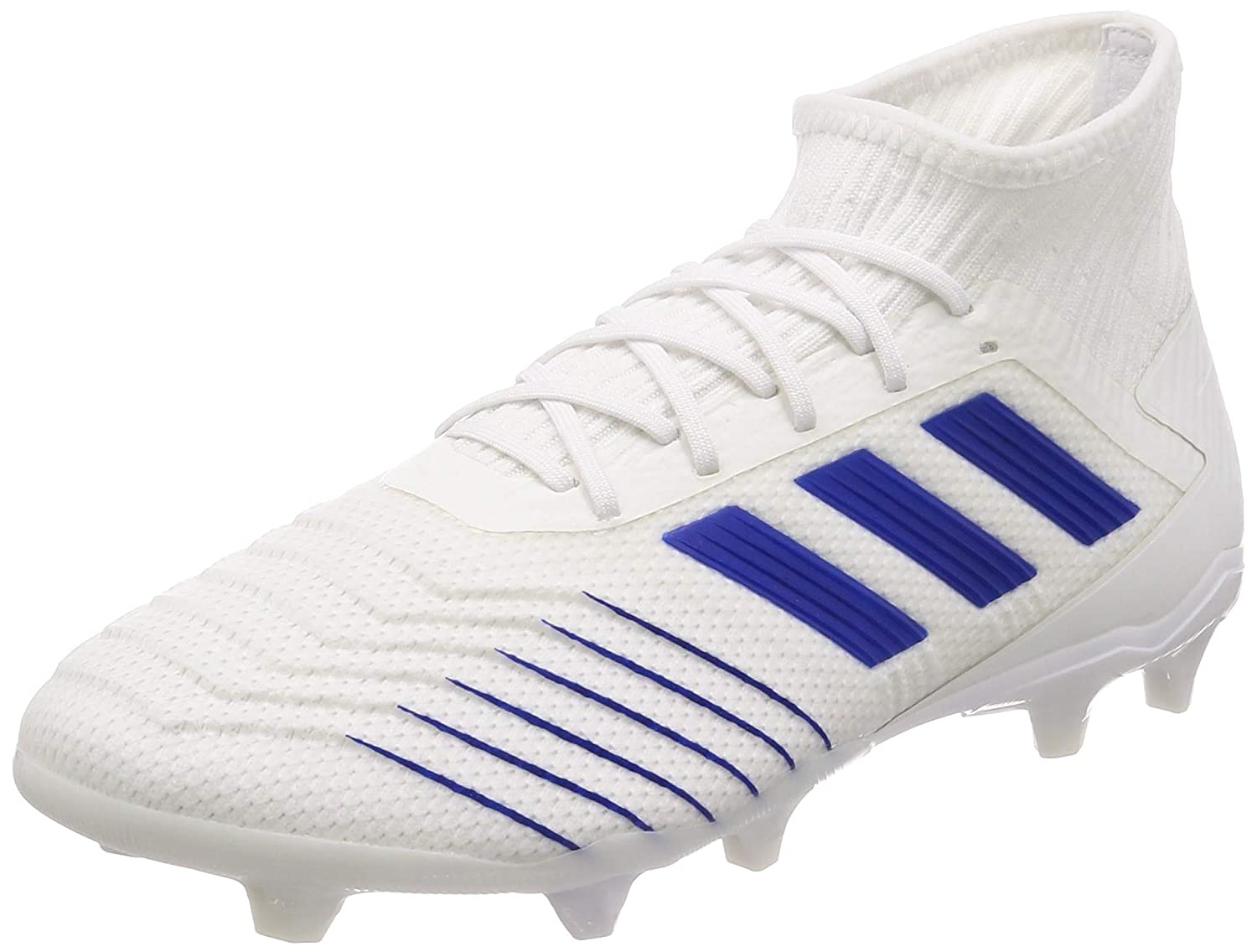 MultiCouleure (Ftw Bla Azufue Azufue 000) 40 2 3 EU adidas Prougeator 19.2 FG, Chaussures de Football Homme