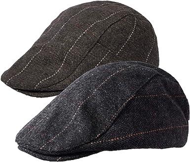 Peaky Blinders Newsboy Caps Men Herringbone Flat Caps Gatsby Cap Woolen Hat