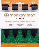 Monkey Mat Stake Set - 4 pk