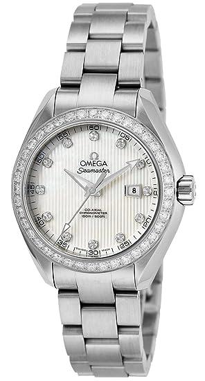 new style 3a5c8 af2fb Amazon | [オメガ] 腕時計 シーマスター アクアテラ ホワイト ...