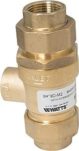 """Watts Regulator 61888 9D 3/4"""" 3/4"""" Backflow Preventer Sweat"""