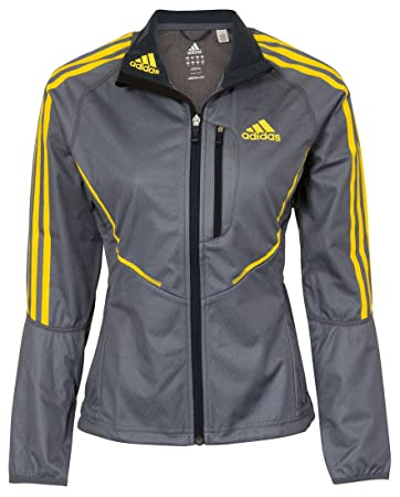 ClimaWarm JackeGrau adidas Athletics Windstopper Damen EDIW2YH9