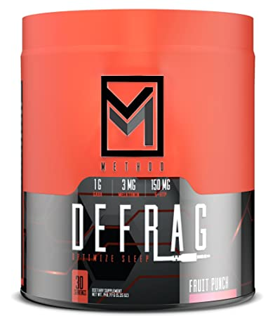 Defrag - Premium Sleep & Recovery Powder - Natural Sleep Aid with Melatonin, GABA,