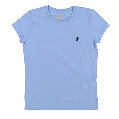 Ralph Lauren Polo Damen Rundhals Shirt T-Shirt Hellblau Größe XL ... 8957af8ccb