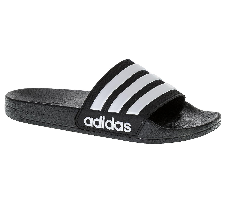 19eb7923f881e4 adidas Men s Cloudfoam Adilette Beach   Pool Shoes  Amazon.co.uk  Shoes    Bags