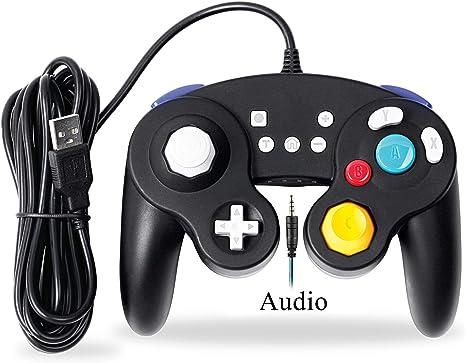 EXLENE Cableado Usb Controlador per Nintendo Switch con Audio ...