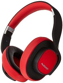 AUSDOM M08 con cable inalámbrico Bluetooth estéreo auriculares de diadema con micrófono y # xFF08;