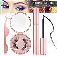 Magnetic Eyeliner Kit, Magnetic Eyeliner With Magnetic Eyelashes, Magnetic Lashliner For Use with Magnetic False Lashes