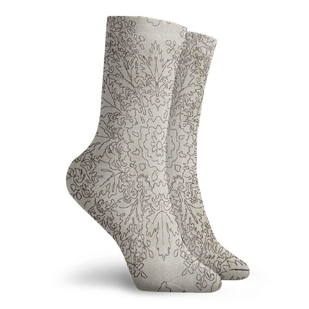 LivingDivani Unisex Funny Casual Crew Socks Athletic Socks For Boys Girls Kids Teenagers