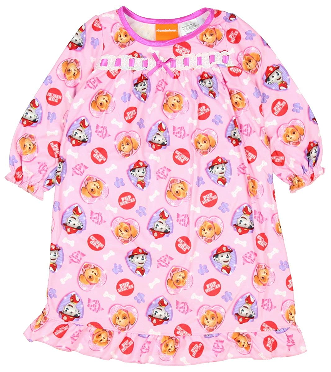 Pink Paw Patrol Toddler Girls Long Sleeve Nightgown
