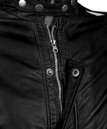 Cuir Punk Accessoires Et Daft Noir 5xlVêtements Veste En n0Pkw8O