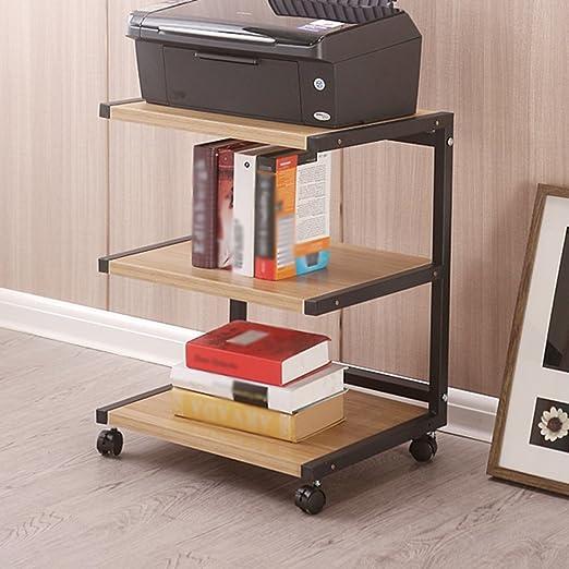 Storage shelves Estantería para Impresora, Mesa de Esquina ...
