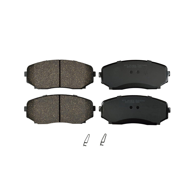 KFE Ultra Quiet Advanced Premium Ceramic FRONT Brake Pad Set KFE1258-104