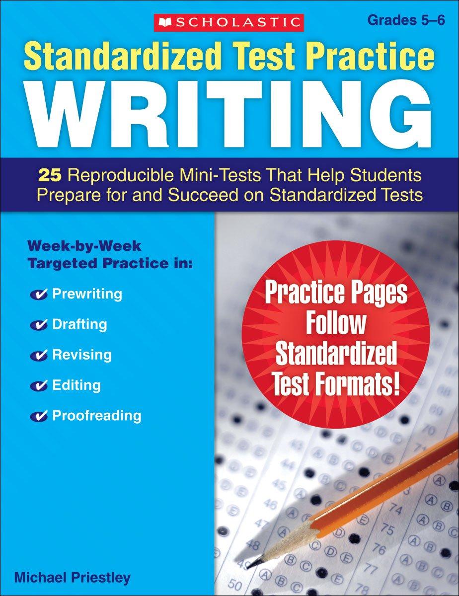 Amazon Standardized Test Practice Writing Grades 56 25 – Reproducible Student Worksheet