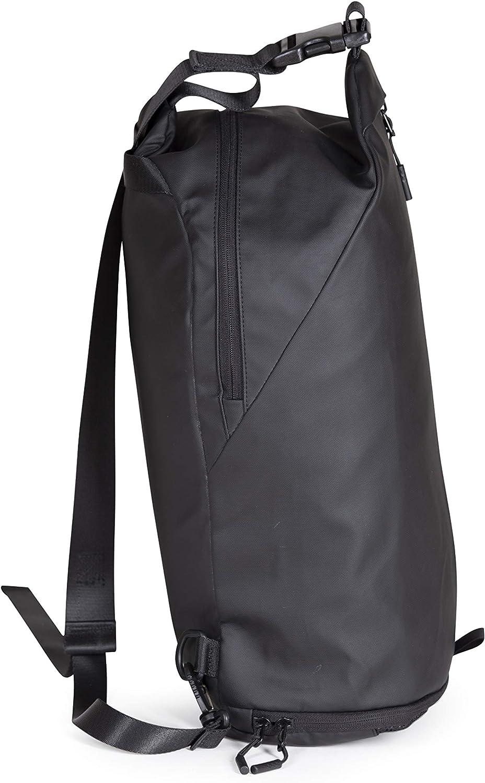 Stoā Agathos Sling Pack - Minimalist Travel Bag - Large One Shoulder Backpack - Shoulder Sling Backpack - EDC Bag- Casual Daypacks - Gym Bag With Shoe Compartment - Crossbody Bag - USB - 17L Capacity