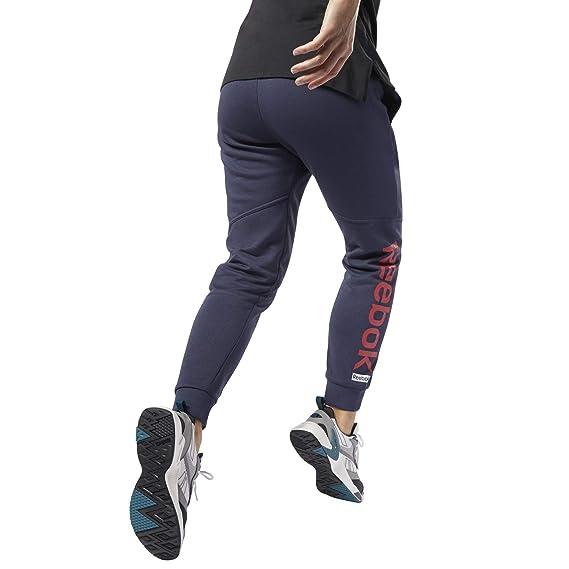 Reebok Linear Logo Pant Pantalón, Mujer: Amazon.es: Deportes y ...