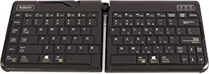 Goldtouch GTP-0044 Go!2 Mobile Keyboard, Portable Foldable Travel Keyboard with USB
