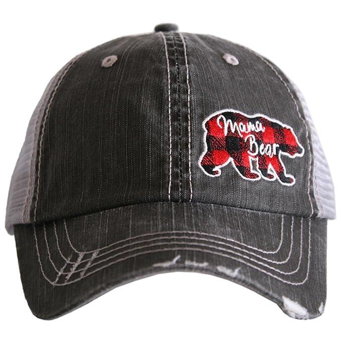 4b60fe0be0d Katydid Mama Bear Side Patch Baseball Hats Caps at Amazon Women s Clothing  store
