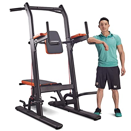 Enjoyable Harison Power Tower Pull Up Dip Station With Bench Home Gym Exercise Equipment Dip Stands Pull Up Bars Push Up Bars Vkr Chin Ups For Strength Pdpeps Interior Chair Design Pdpepsorg