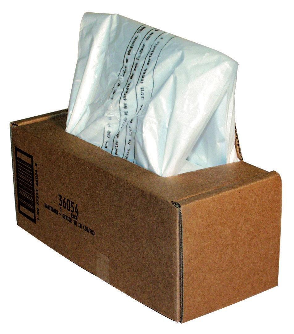 Fellowes Powershred Waste Bags for 125 / 225 / 2250 Series Shredders