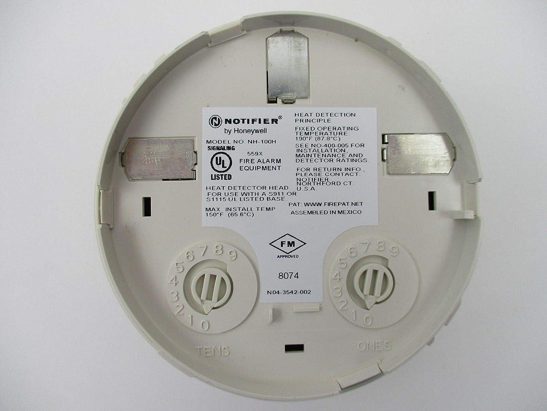 Notifier NH-100H - Intelligent Addressable Thermal Detector Base - - Amazon.com
