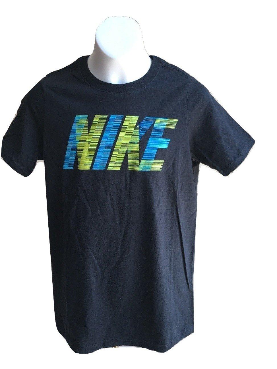 Nike Boy's Graphic Tee T-Shirt AA2122-010 Black