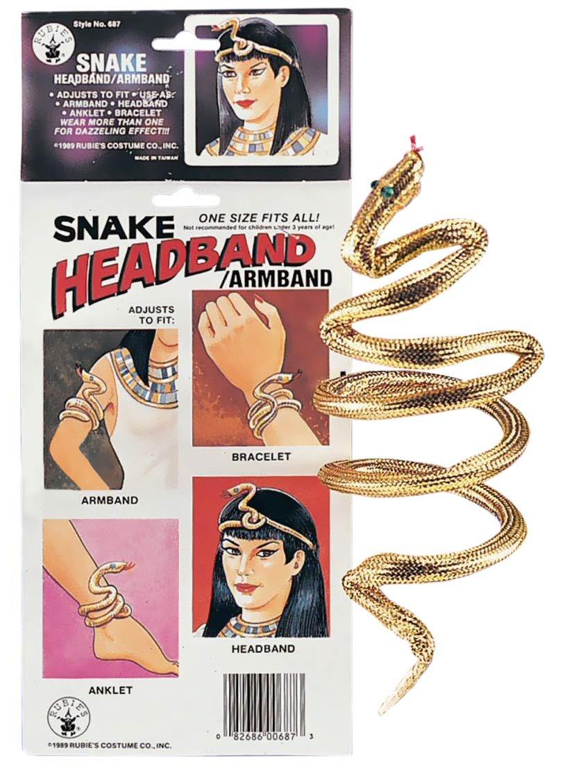 Gold Snake Costume Armband/Bracelet