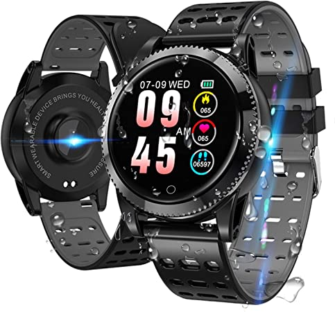 Smart Band Uhr Armband Armband Fitness Tracker Blutdruck Herz Rate