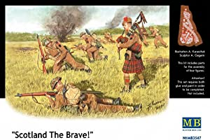 Master Box Scotland The Brave! Commonwealth Infantry (4) Figure Model Building Kits (1:35 Scale)