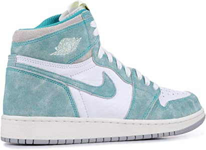 AIR JORDAN 1 Retro High Og (Gs) 'Turbo Green' - 575441-311 - Size 4.5Y