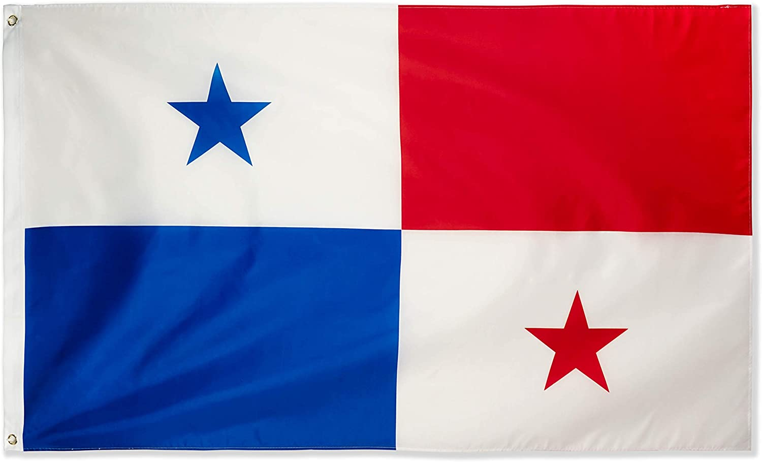DANF Panama Flag 3x5 Foot Polyester Panamanian National Flags Polyester with Brass Grommets 3 X 5 Ft
