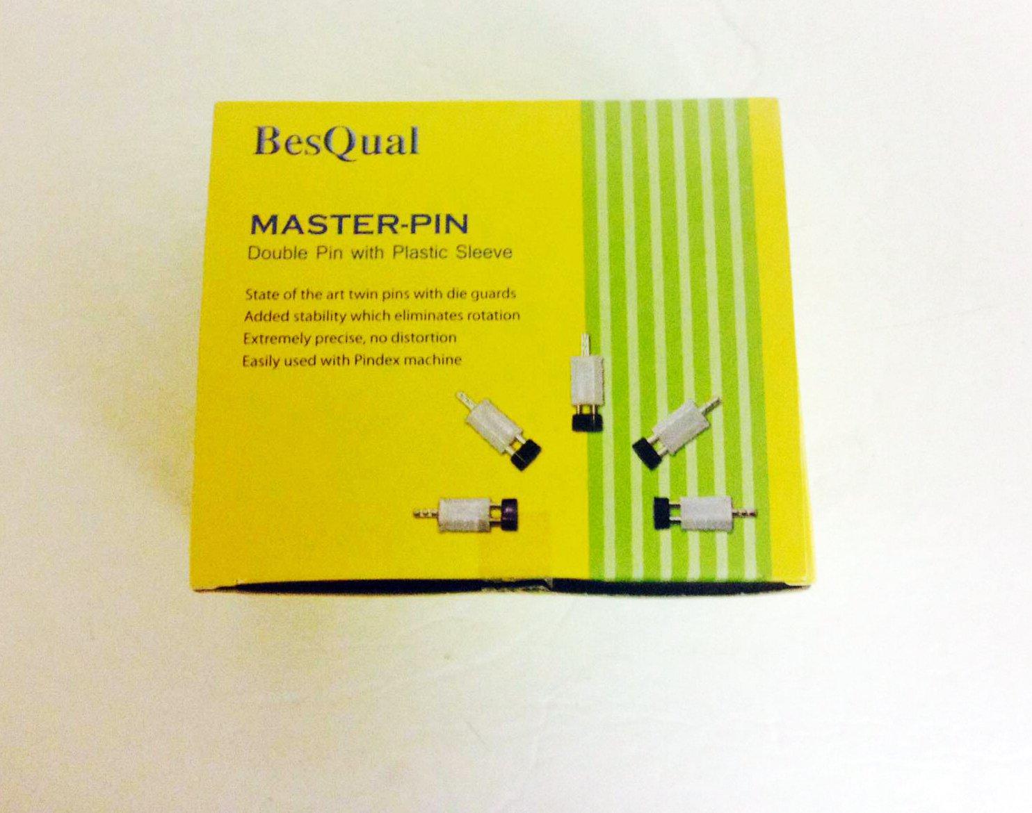Meta Dental 402 Double Dowl Pin Master Pin II Plastic Box Of 1,000 Sets