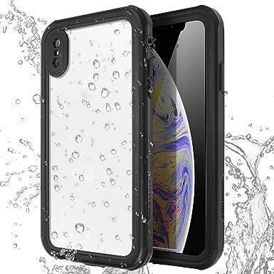 AICase Carcasa Impermeable para iPhone Xs/X, a Prueba de Golpes, Nieve, a Prueba de Polvo, certificación IP68, Totalmente sellada bajo el Agua, Funda ...