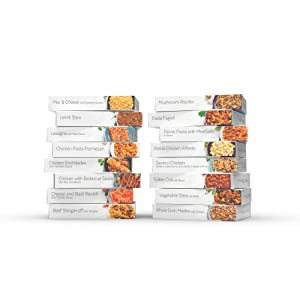 HMR Super Ultimate Entree Variety Pack, 16 Different Meals, 7-8oz. Servings, 16 Count