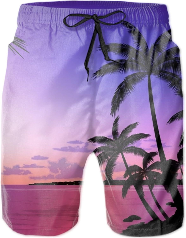Beautiful Pug Quick Dry Swim Trunks Summer Beach Shorts Running Board Shorts