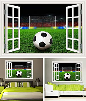 Moderno 3D Etiqueta de la pared Etiqueta de la ventana Balón de ...