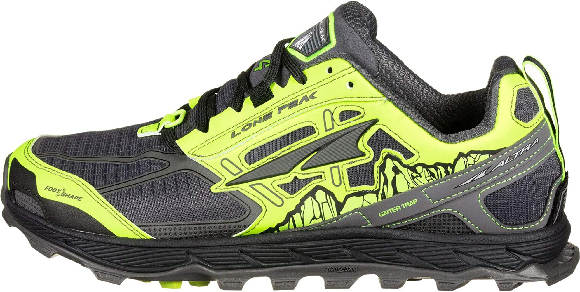 Altra Lone Peak 4.0 Zapatillas de Trail Running Yellow: Amazon.es ...