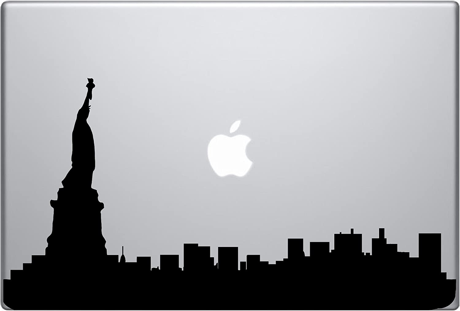 Statue of Liberty Silhouette of New York City Macbook Ipad Decal Skin Sticker Laptop