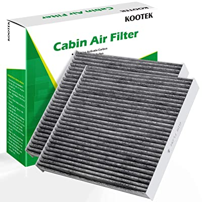 Kootek Cabin Air Filter with Activated Carbon, 2 Pack Replacement for CP134, CF10134, Honda & Acura, Accord Civic CR-V Acura Odyssey Pilot Ridgeline CSX ILX MDX RDX RL RLX TL TLX TSX ZDX HCF134: Automotive