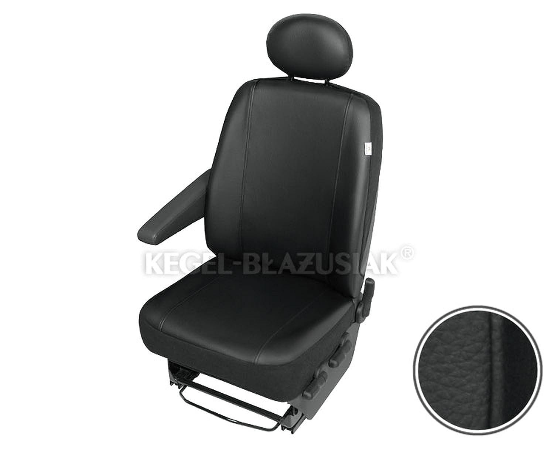 Armlehne links Kunstleder schwarz Einzelsitz Armlehne rechts ZentimeX Z938632 Sitzbez/üge Fahrersitz