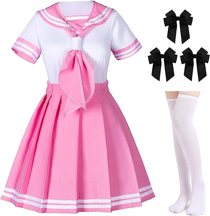 Amazon.com: Disfraz de anime japonés clásico para niñas de ...