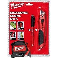 Milwaukee T4932459375 Ağır Hizmet Tipi 3'lü Set Maket Bıçağı