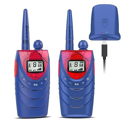 radios de man Juego de juguetes para niños 2 unidades de 3 millas 22 canales
