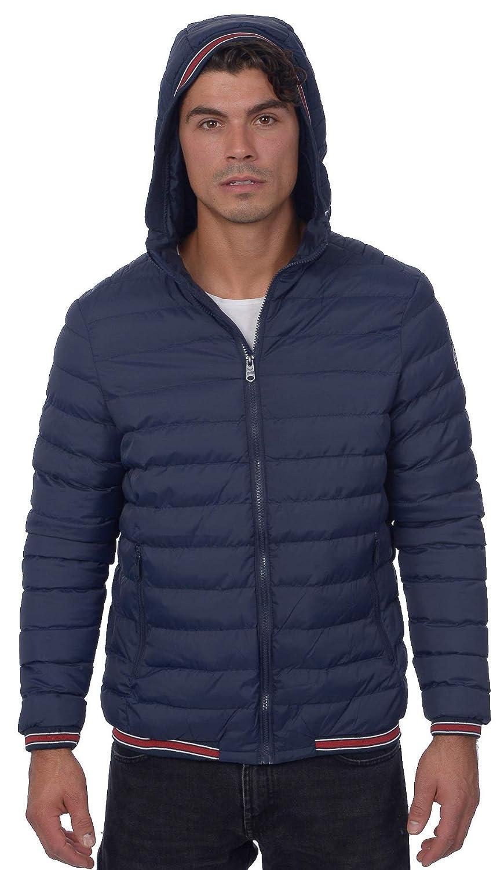 Threadbare Men's Lightweight Poly Fill Hooded Puffer Jacket BIAC_TH1JHARLEY