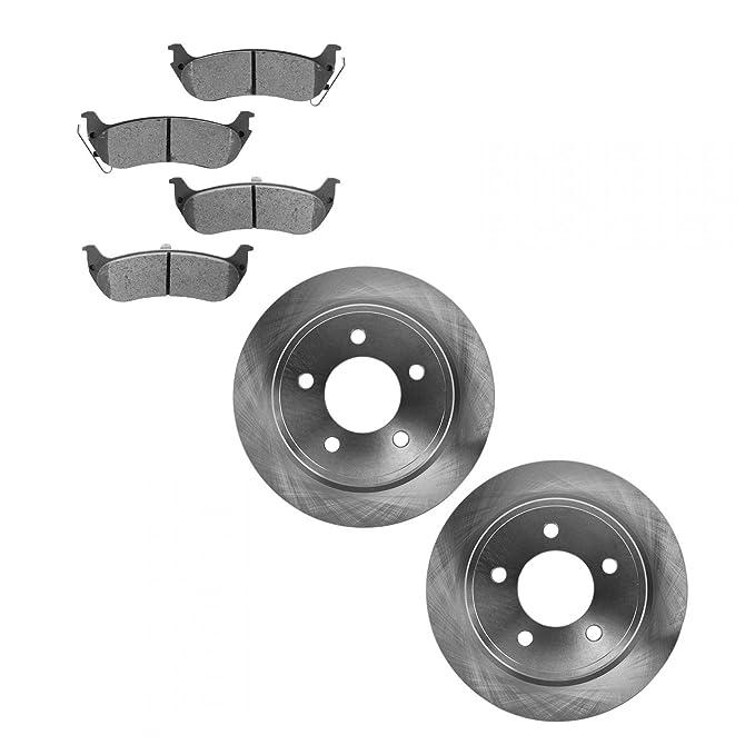 Nakamoto Brake Pad /& Rotor Kit Metallic Rear for 04-08 Chrysler Pacifica NEW