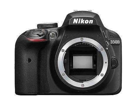 Nikon D3400 cuerpo - Cámara réflex digital de 24,2 Mp (pantalla ...